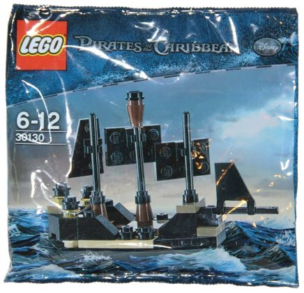 LEGO Pirates des Caraïbes 30130 Mini Black Pearl (Polybag)