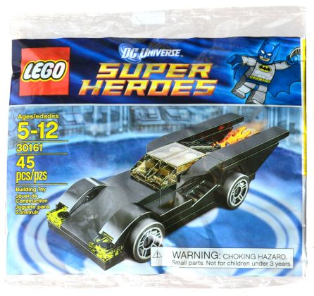 LEGO DC Comics Super Heroes 30161 Batmobile (Polybag)