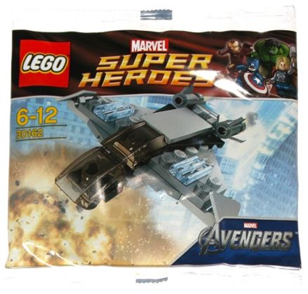 LEGO Marvel 30162 The Quinjet (Polybag)