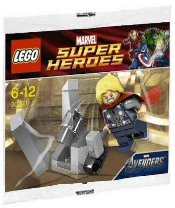 LEGO Marvel Super Heroes 30163 Thor and the Tesseract (Polybag)