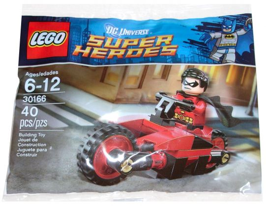 LEGO DC Comics Super Heroes 30166 Robin and Redbird Cycle (Polybag)