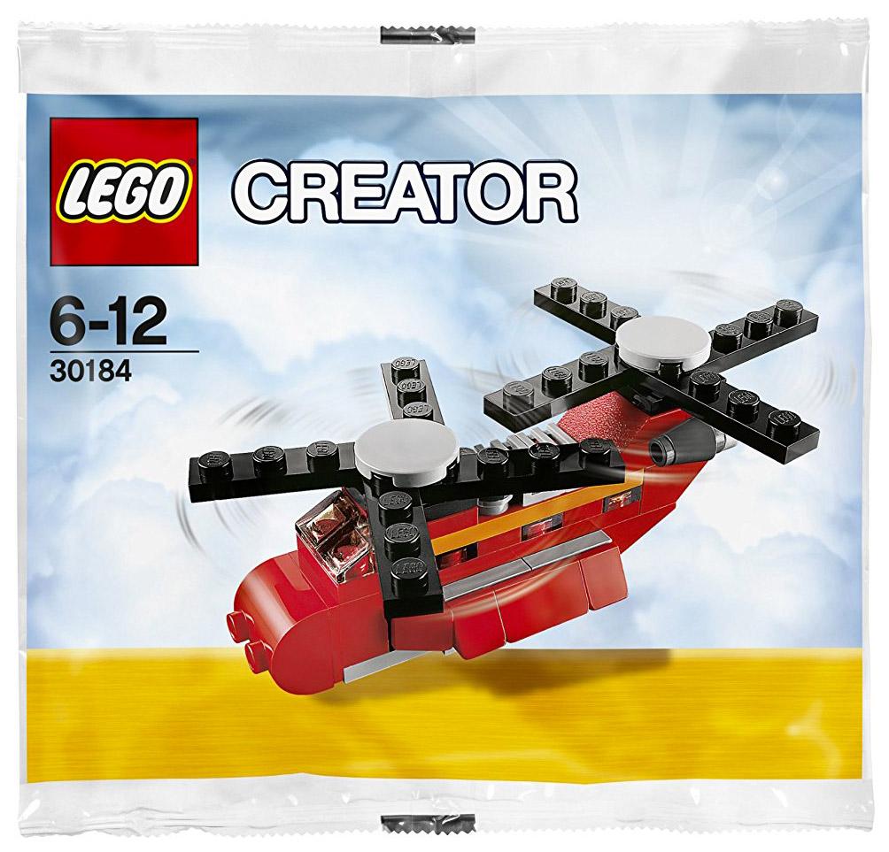 lego creator 30184 pas cher le petit h licopt re polybag. Black Bedroom Furniture Sets. Home Design Ideas