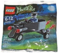 LEGO Monster Fighters 30200 Zombie Chauffeur Coffin Car (Polybag)