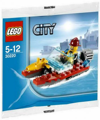 LEGO City 30220 Fire Speedboat (Polybag)