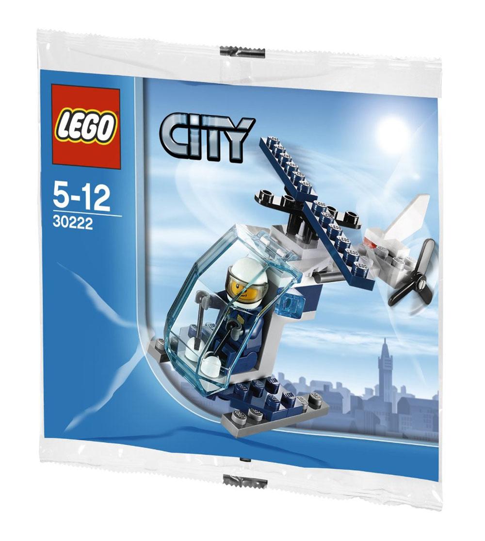 lego city 30222 pas cher police helicopter. Black Bedroom Furniture Sets. Home Design Ideas
