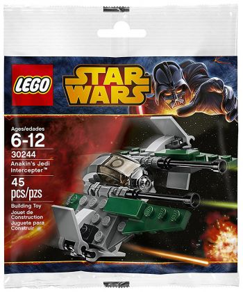 LEGO Star Wars 30244 Anakin's Jedi Interceptor (Polybag)