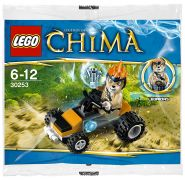 LEGO Chima 30253 Leonidas' Jungle Dragster (Polybag)