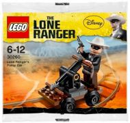 LEGO The Lone Ranger 30260 - Lone Ranger's Pump Car (Polybag) pas cher