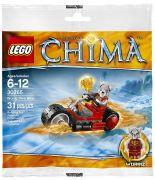 LEGO Chima 30265 Worriz' Fire Bike (Polybag)