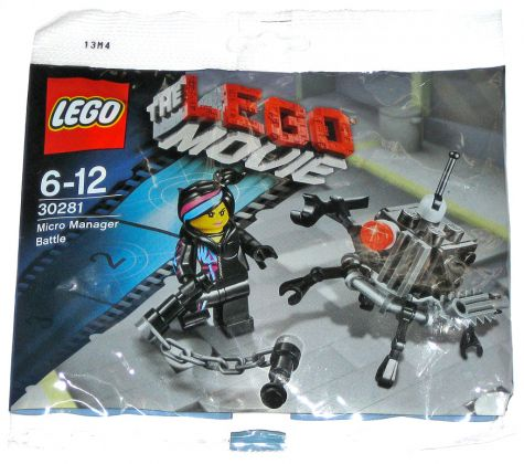 LEGO The LEGO Movie 30281 Micro Manager Battle (Polybag)