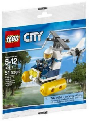 LEGO City 30311 Swamp Police Helicopter (Polybag)