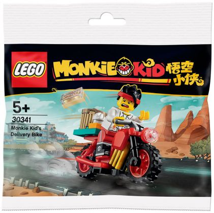 LEGO Monkie Kid 30341 Monkie Kid's Delivery Bike (Polybag)