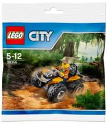 LEGO City 30355 Quad de la jungle (Polybag)