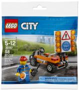 LEGO City 30357 Road Worker (Polybag)