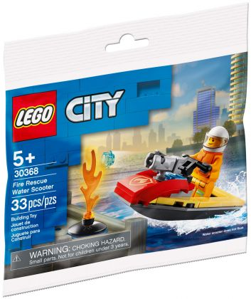 LEGO City 30368 Fire Rescue Water Scooter (Polybag)