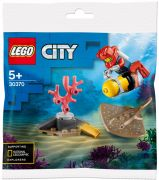 LEGO City 30370 Le plongeur océanique (Polybag)