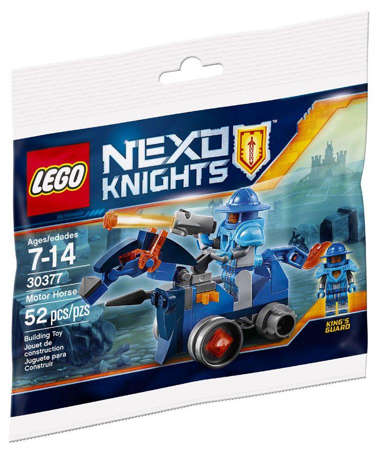 Motor Nexo 30377 Knights Lego Horsepolybag reBCxodW