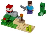 LEGO Minecraft 30393 Minecraft Steve and Creeper Set (Polybag)