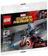 LEGO Marvel 30447 Captain America's Motorcycle (Polybag)