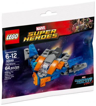 LEGO Marvel 30449 The Milano (Polybag)