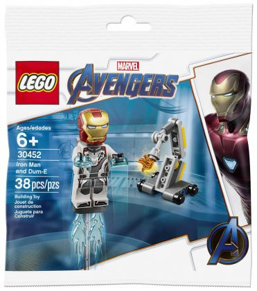 LEGO Marvel Super Heroes 30452 Iron Mac and Dum-E (Polybag)