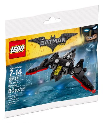 LEGO The Batman Movie 30524 Le mini Batwing (Polybag)