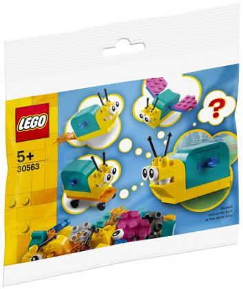 LEGO Classic 30563 Build a super powered snail (Polybag)