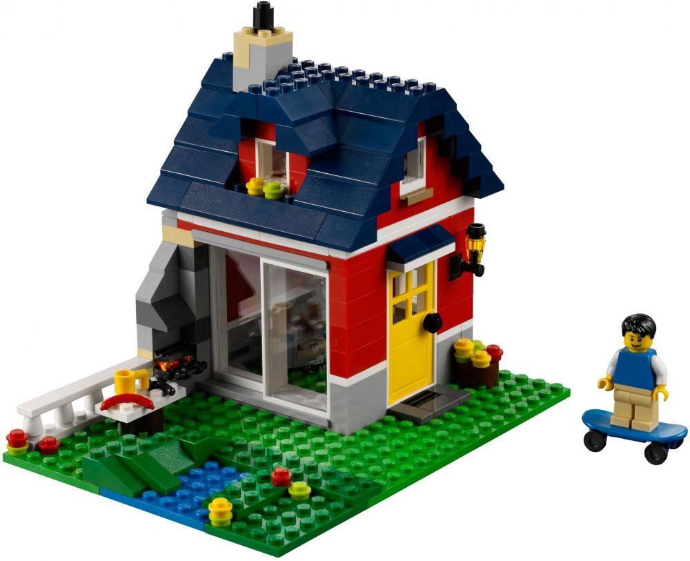 lego creator 31009 pas cher la petite maison. Black Bedroom Furniture Sets. Home Design Ideas