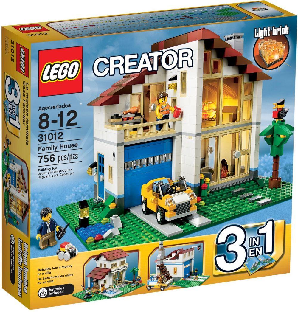 lego creator 31012 pas cher la maison de famille. Black Bedroom Furniture Sets. Home Design Ideas