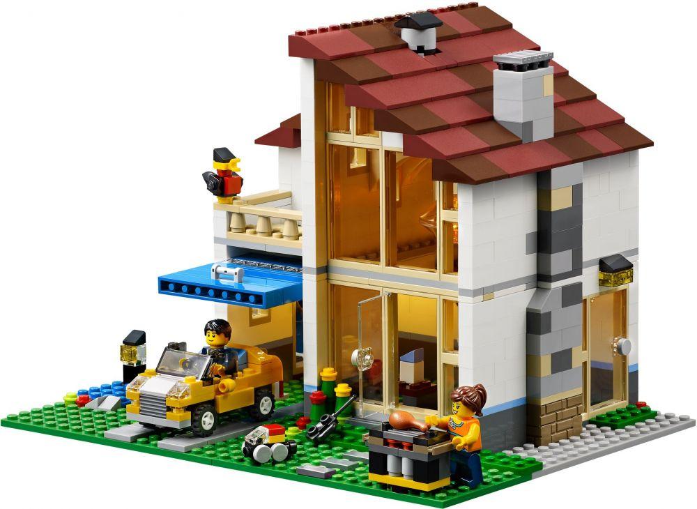 Lego creator 31012 pas cher la maison de famille for Style maison de famille