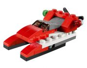 LEGO Creator 31013 L'hélicoptère rouge