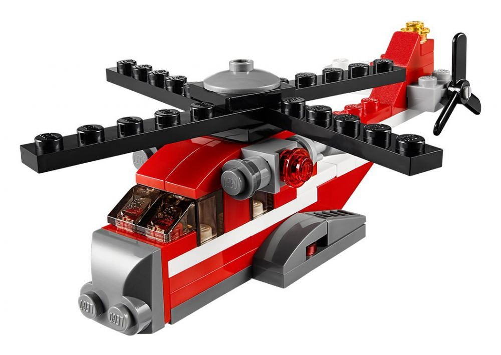 Rouge L'hélicoptère Lego Lego Creator 31013 Rouge 31013 Creator L'hélicoptère qpGUzVSM