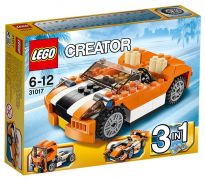LEGO Creator 31017 La décapotable orange