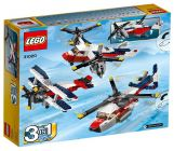 LEGO Creator 31020 L'avion à double hélices