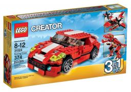 LEGO Creator 31024 - Le bolide rouge pas cher