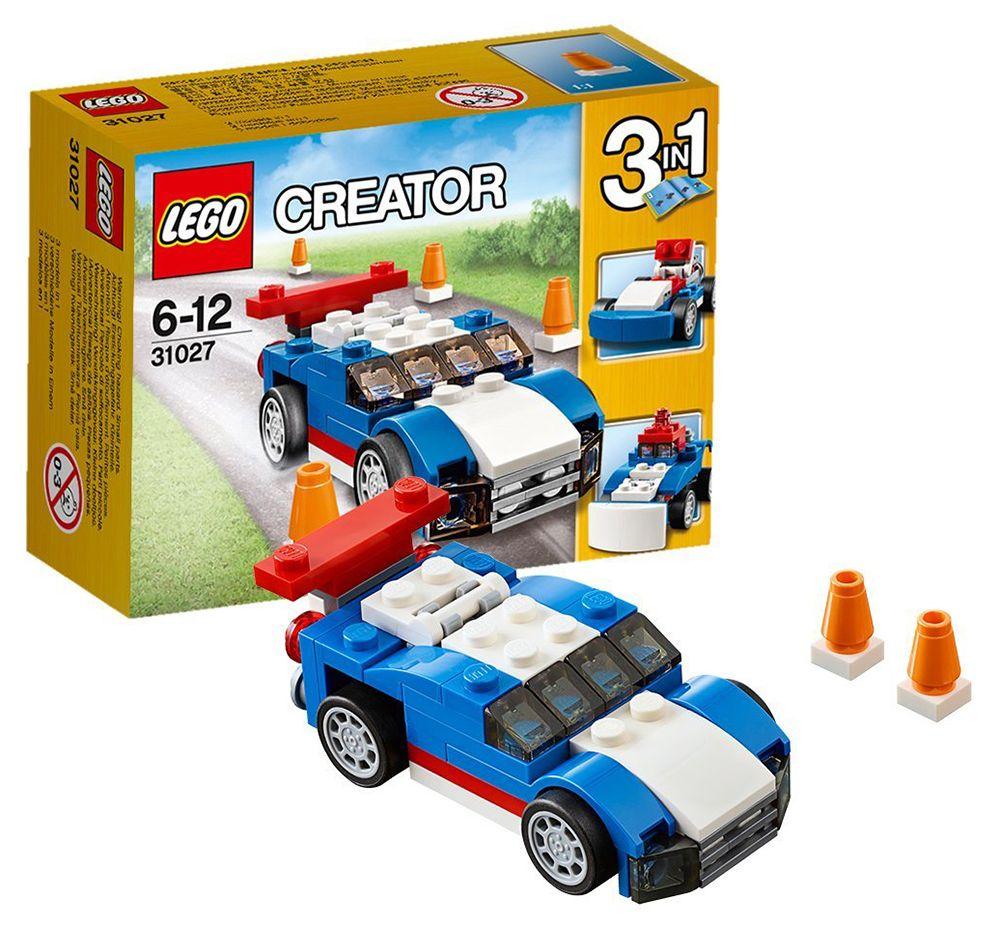 31027 Le Bolide Bleu Lego Creator LEGO : King Jouet, Lego, planchettes & autres