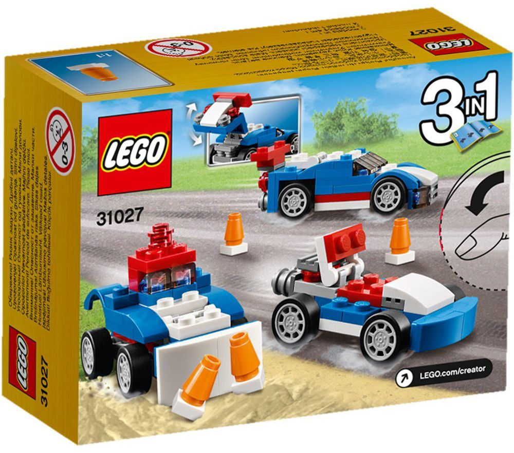 UltraJeux  Creator 31027  Le Bolide Bleu LEGO