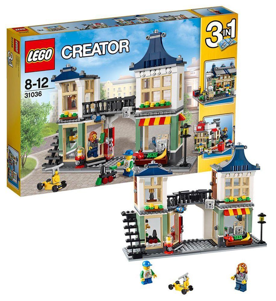 Et L'épicerie Creator CherLe Magasin De Lego Jouets Pas 31036 KcTFlJ1