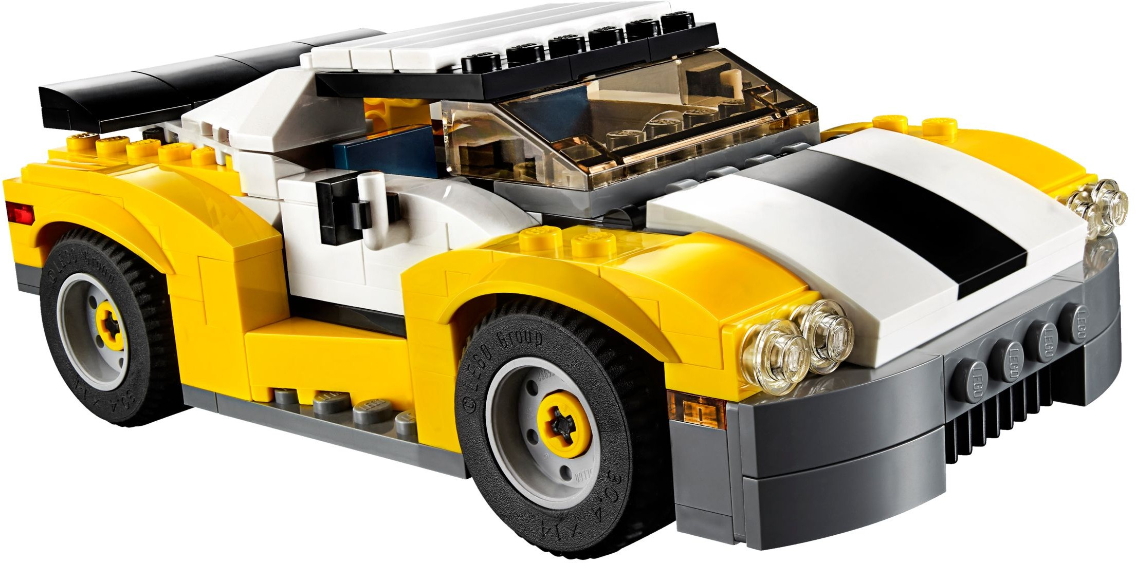 lego creator 31046 pas cher la voiture rapide. Black Bedroom Furniture Sets. Home Design Ideas