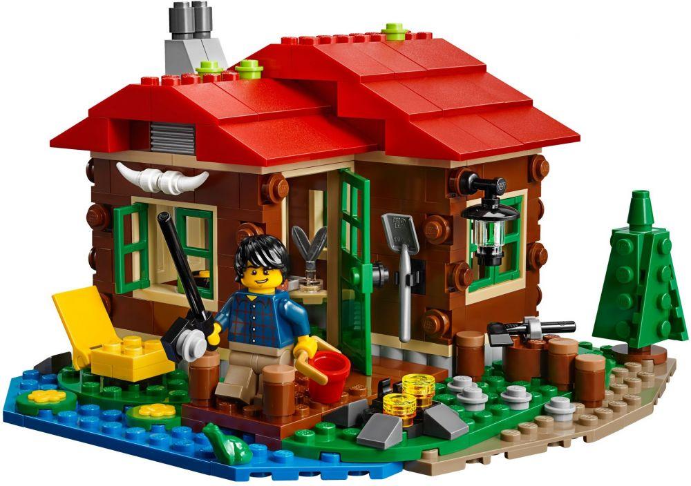lego creator 31048 pas cher la cabane du bord du lac With cree ta propre maison 2 lego creator 31048 pas cher la cabane du bord du lac