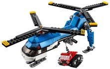 LEGO Creator 31049 L'hélicoptère à double rotor