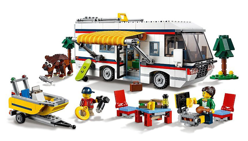 lego creator 31052 pas cher le camping car. Black Bedroom Furniture Sets. Home Design Ideas