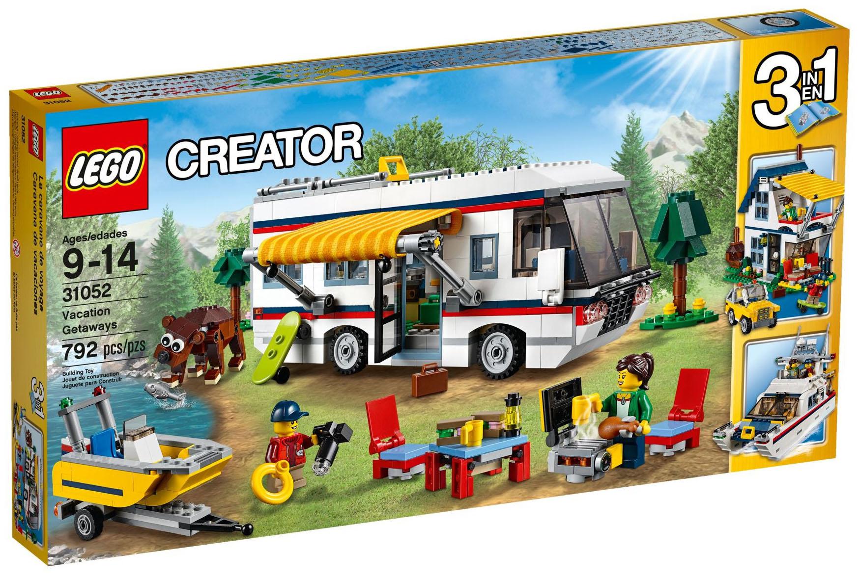Lego Creator 31052 Pas Cher Le Camping Car