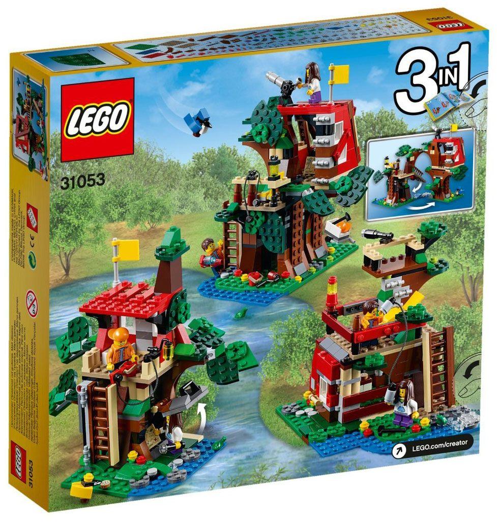 Lego creator 31053 pas cher les aventures dans la cabane for House creator