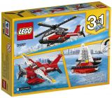 LEGO Creator 31057 L'hélicoptère rouge