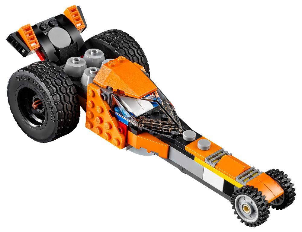 lego creator 31059 pas cher la moto orange. Black Bedroom Furniture Sets. Home Design Ideas