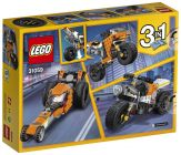 LEGO Creator 31059 La moto orange