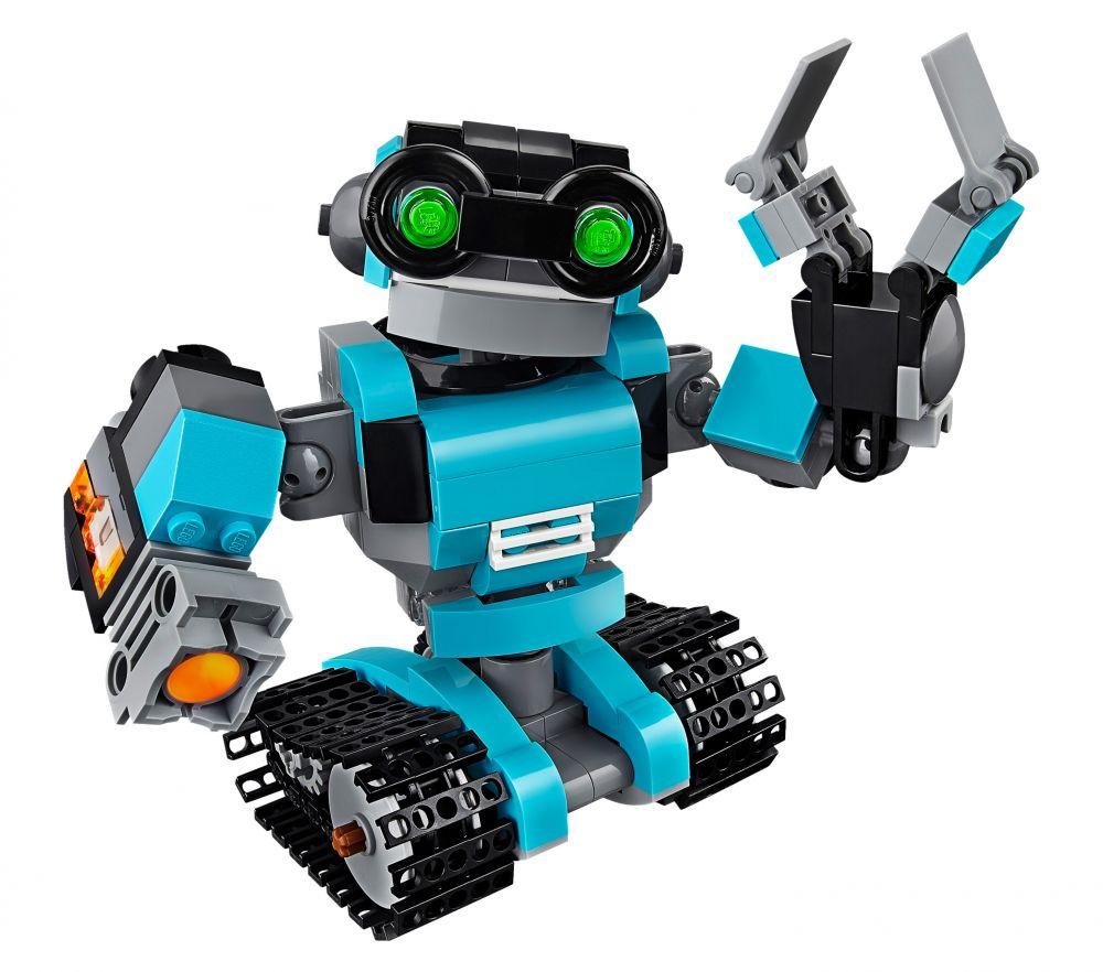 lego creator 31062 pas cher le robot explorateur. Black Bedroom Furniture Sets. Home Design Ideas