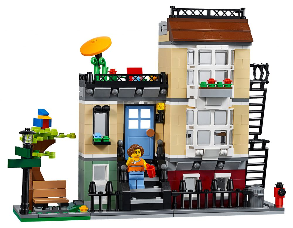 lego creator 31065 pas cher la maison de ville. Black Bedroom Furniture Sets. Home Design Ideas