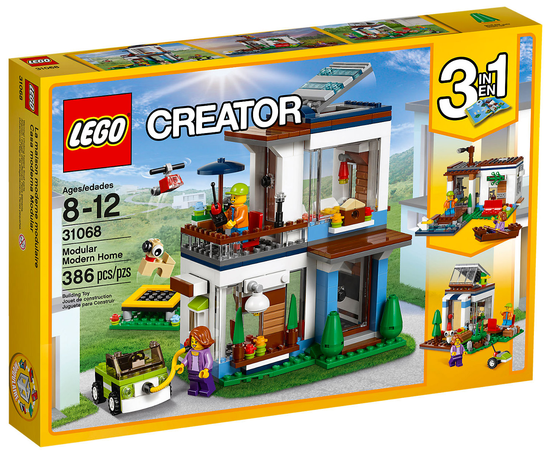 Lego creator 31068 pas cher la maison moderne for Maison moderne lego
